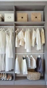 Struktur & ordning i garderoben