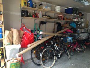 Före garagestädning