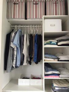 Ordning i garderoben