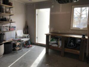 Vårstädning i garaget - efter