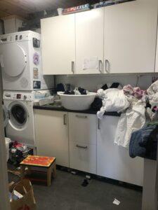 Före ordning i tvättstugan