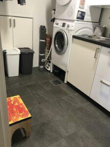 Efter ordning i tvättstugan